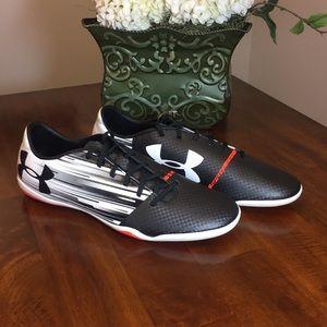 Under Armour Spotlight Indoor Soccer Shoes